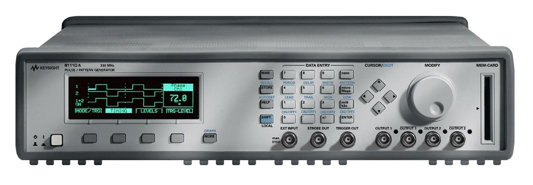 Rent Agilent 81110A Pulse Pattern Generator, 165/330 MHz