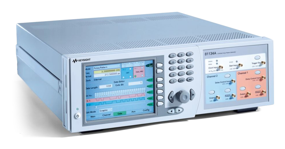 Rent Agilent 81134A Pulse Pattern Generator 3.35 GHz, 2 CH