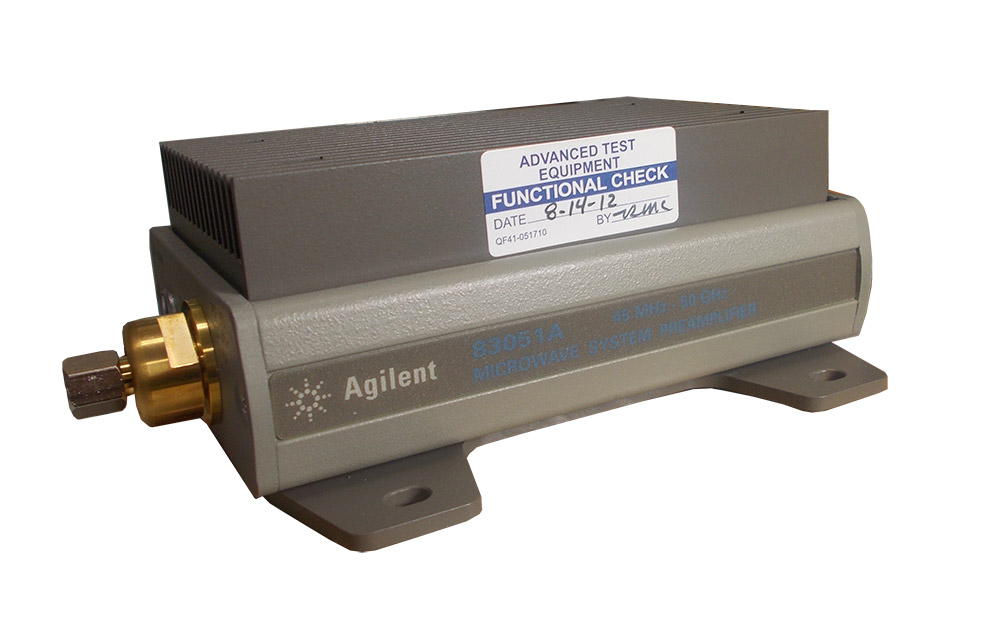 Rent Agilent 83051A Microwave System Amplifier 45 MHz - 50 GHz