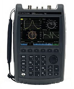Rent Agilent N9925A FieldFox Handheld Microwave Vector Network Analyzer, 9 GHz