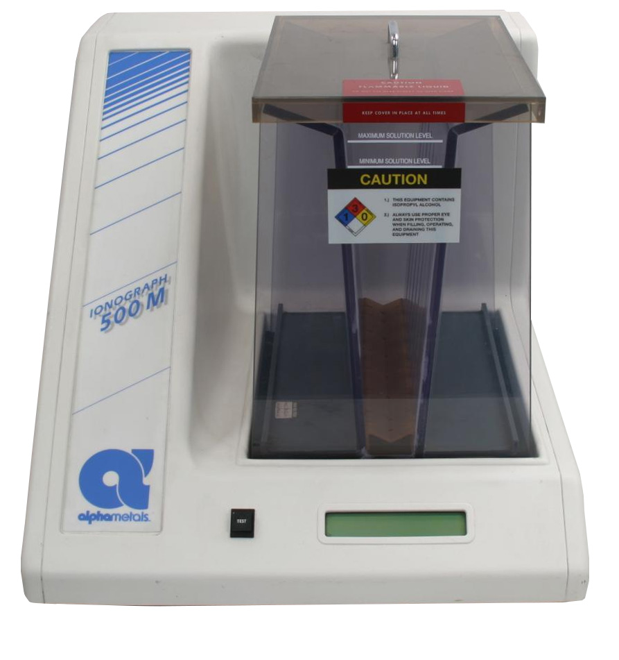 Alpha Ionograph 500m Ionic Contamination Tester