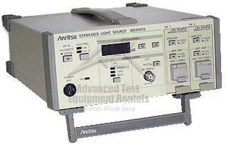 Anritsu MG9001A - Stabilized Optical Light Source 100MHz
