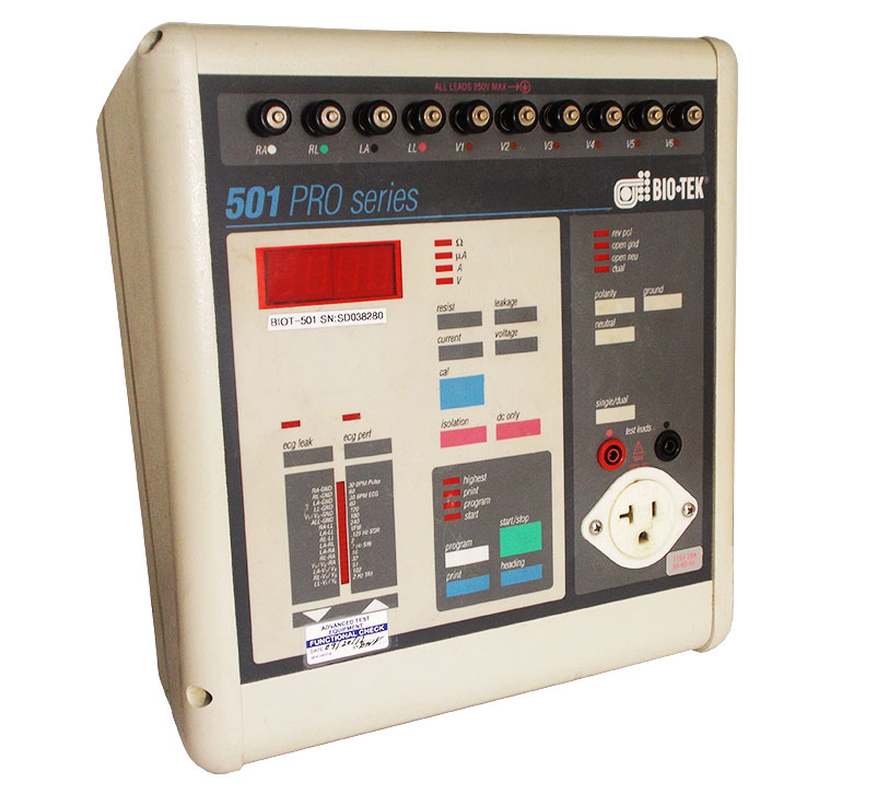 Rent BioTek 501 Pro Electrical Safety Analyzer