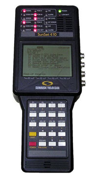 Sunrise Telecom Sunset E10 Communications Test Set