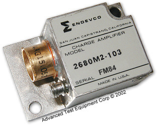 Endevco 2680M4-103 Accelerometer/Airborne Charge Amplifier
