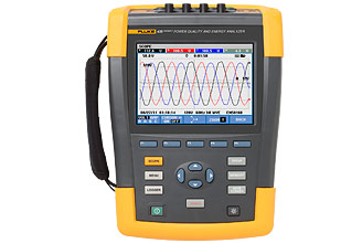 Fluke 435 Series II Power Quality and Energy Analyzer  %>