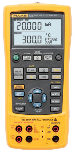 Rent Fluke 726 Precision Multifunction Process Calibrator %>