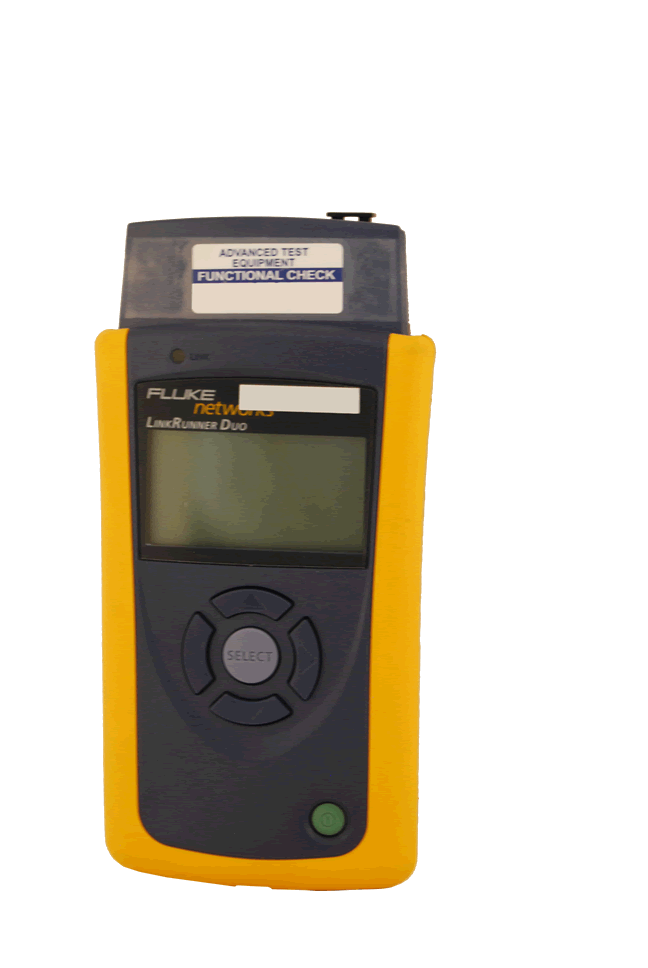 Fluke Network Assistant / LAN Analyzer - LinkRunner Duo