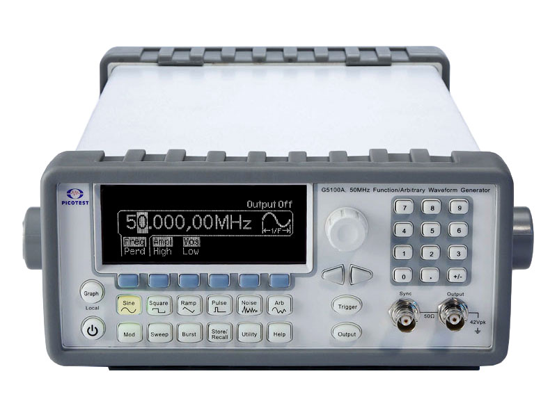 Rent Picotest G5100AGC Arbitrary Function/Waveform Generator