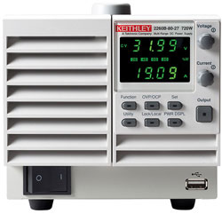 Rent Keithley 2260B-30-36 Programmable DC 360W Power Supply, 30V, 36A