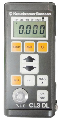 Rent Krautkramer Branson CL3 DL Portable Ultrasonic Thickness Gauge