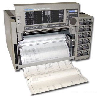 Rent, Buy, or Lease the Western Graphtec MC1000-12 12 - Channel Multicorder - Advanced Test Equipment Rentals | Call (800) 404-2832 for pricing...