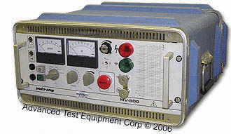 Multi-Amp/Megger MV-800 DC High Voltage Test Set
