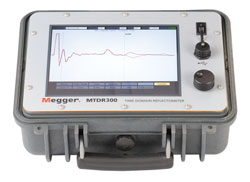 Rent Megger MTDR300 3 Phase Time Domain Reflectometer
