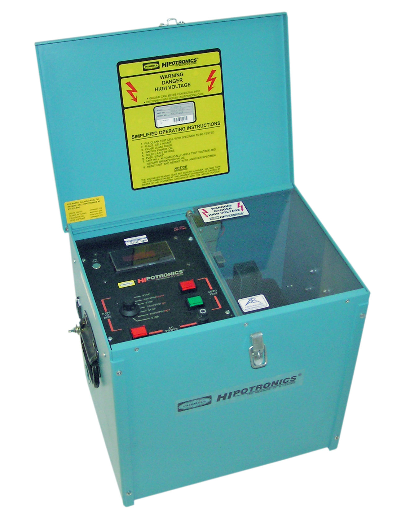 Hipotronics OC60D Oil Dielectric Test Set
