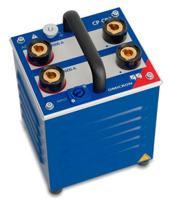 Rent OMICRON CP CB2 Current Amplifier for testing circuit breakers up to 2000 amps