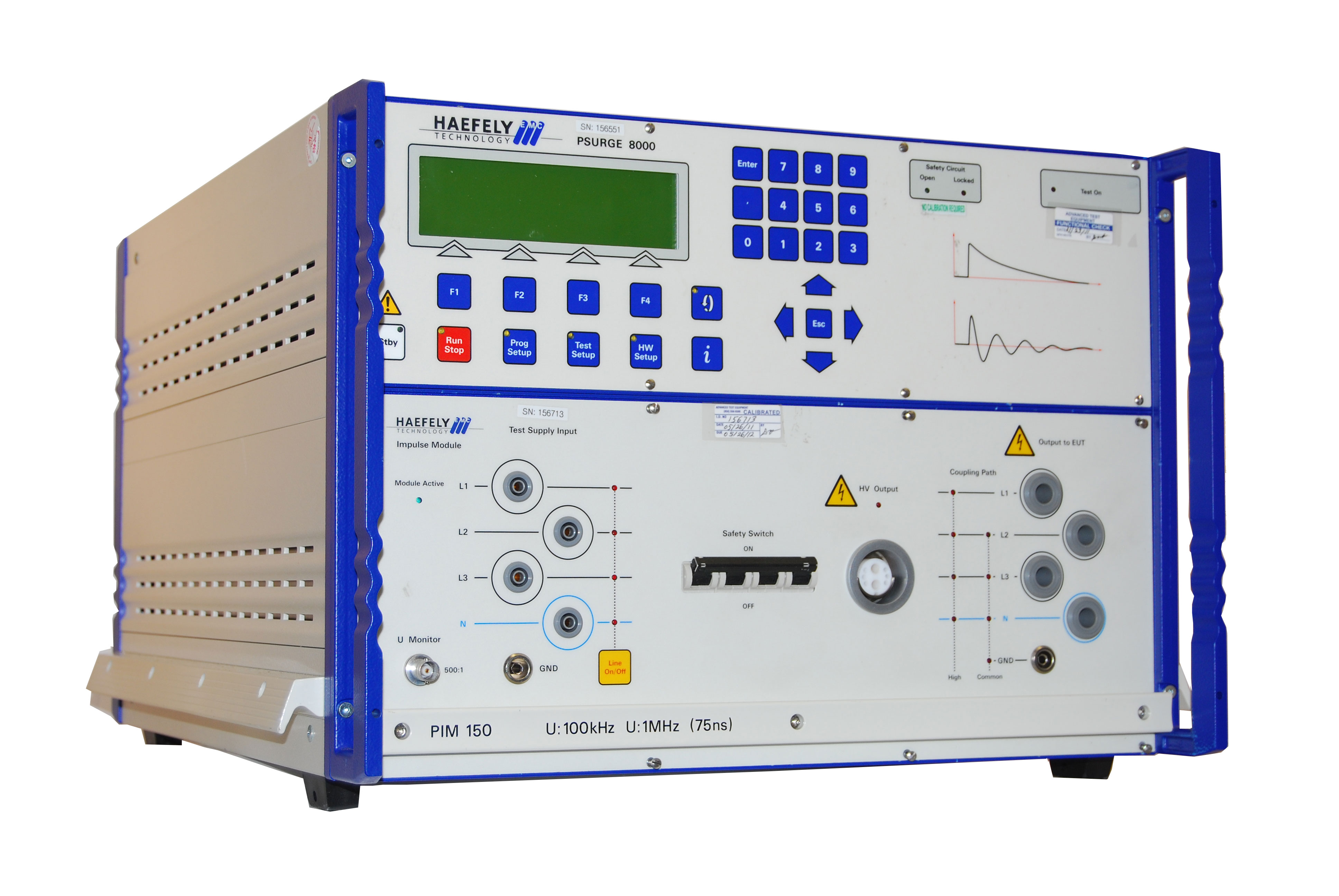 Rent Haefely PSURGE 8000 Surge Platform Test System for UL 1941 Testing