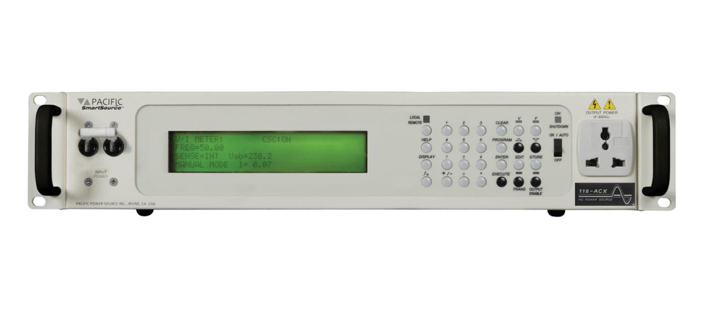 Rent Pacific Power 118-ACX 1.8 kVA Single Phase AC Power Source