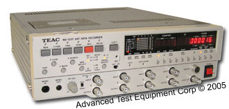 Teac RD 125T Dual Speed 4-Channel DAT Data Recorder