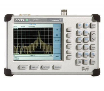 Rent Anritsu S331D Site Master Cable and Antenna Analyzer %>