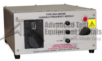 Solar Electronics 9554-1M/6M Variable Frequency Modules