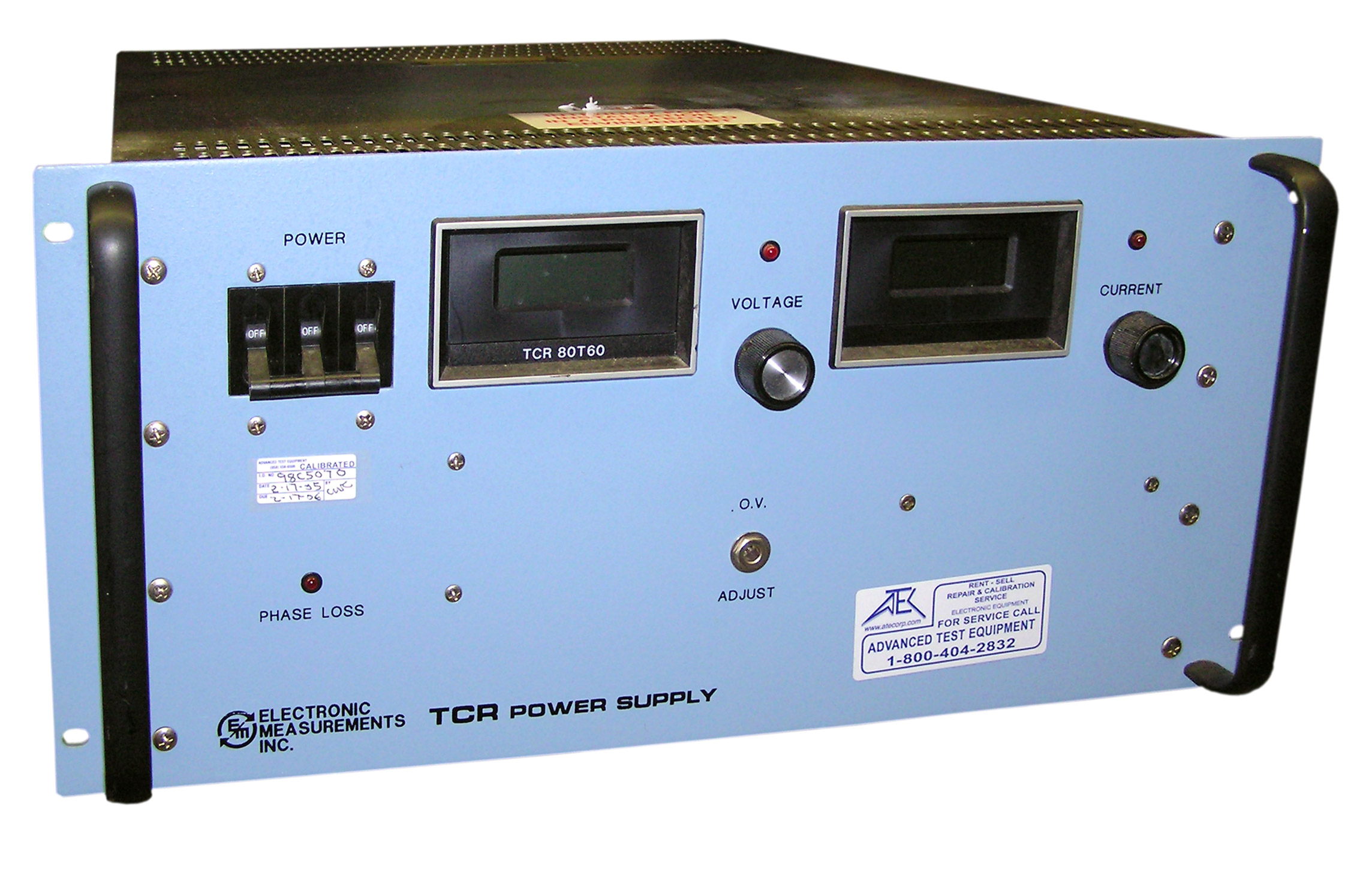 EMI / TDK-Lambda TCR 80T60-1-D-0 Three Phase DC Power Supply