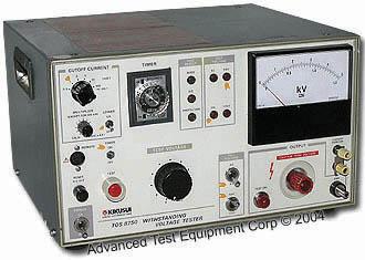 Tos8750 Kikusui Test Equipment Atec Rentals