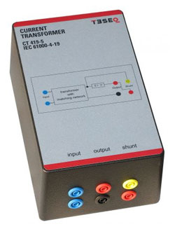 Rent Teseq CT 419-5 Current Transformer for IEC / EN 61000-4-19