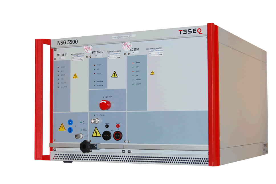 Rent Teseq NSG 5500 Automotive Transient Immunity Tester for ISO 7637