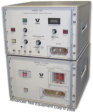 Velonex 587/V2734 Voltage and Current Surge Generator
