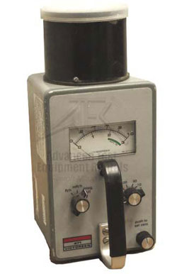 Victoreen 471 Radiation Survey Meter Detector