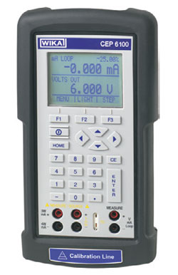 Rent WIKA CEP6100 Documenting Multi-Function Calibrator