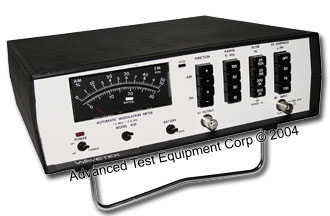 Wavetek/Acterna 4101 Modulation Meter