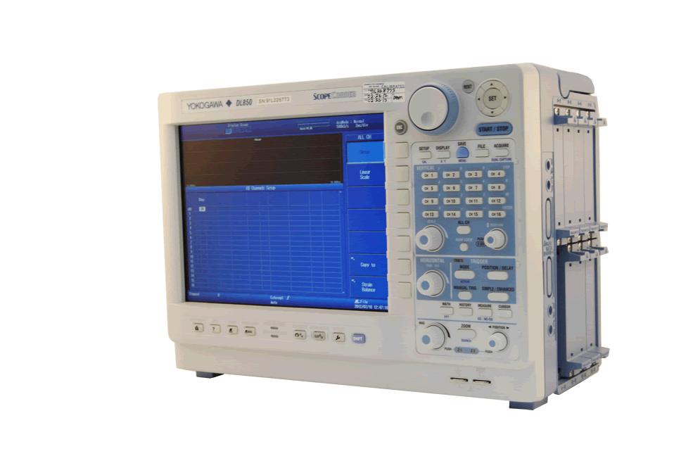Rent, lease, or rent to own the Yokogawa DL850 ScopeCorder 100 MS/s, 8 slots