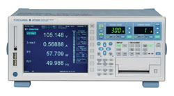 Rent Yokogawa WT3000 Precision Power Analyzer for Harmonics & Flicker, Motor & Torque