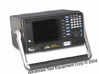 Sunrise Telecom AT2000R CA TV Portable Spectrum Analyzer
