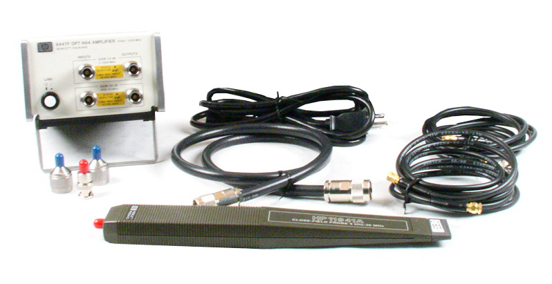 HP/Agilent 11945-E51 Close Field Probe Set operates from 9 kHz to 1 GHz