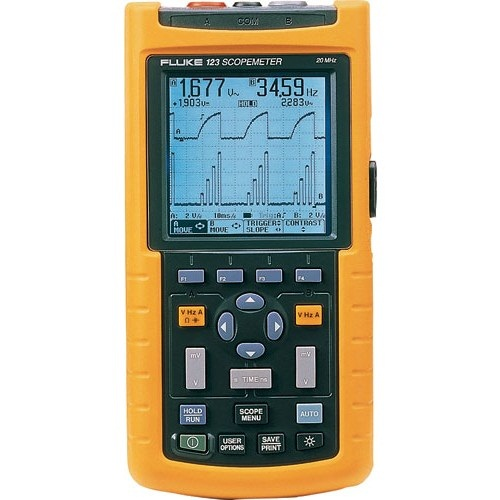 Fluke 123 2-Channel Industrial ScopeMeter
