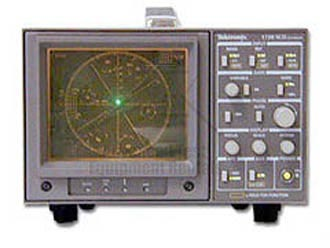 Tektronix 1720SCH NTSC Vectorscope Simultaneous Channel A/B Display