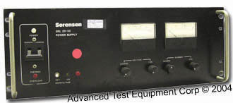 Sorensen SRL20-50 DC Power Supply, 20 Volts, 50 Amps