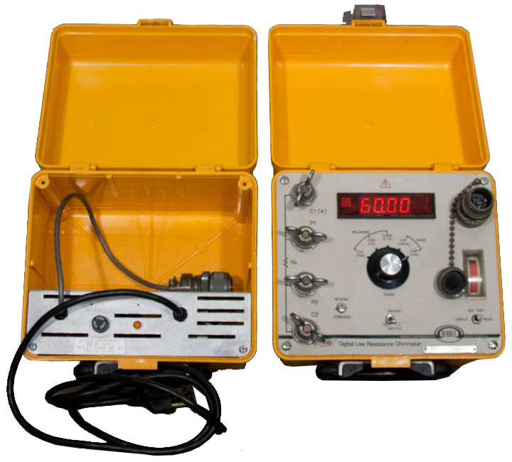 Milli Micro Ohmmeter Or Low Resistance Ohmmeter : Biddle digital low resistance atec