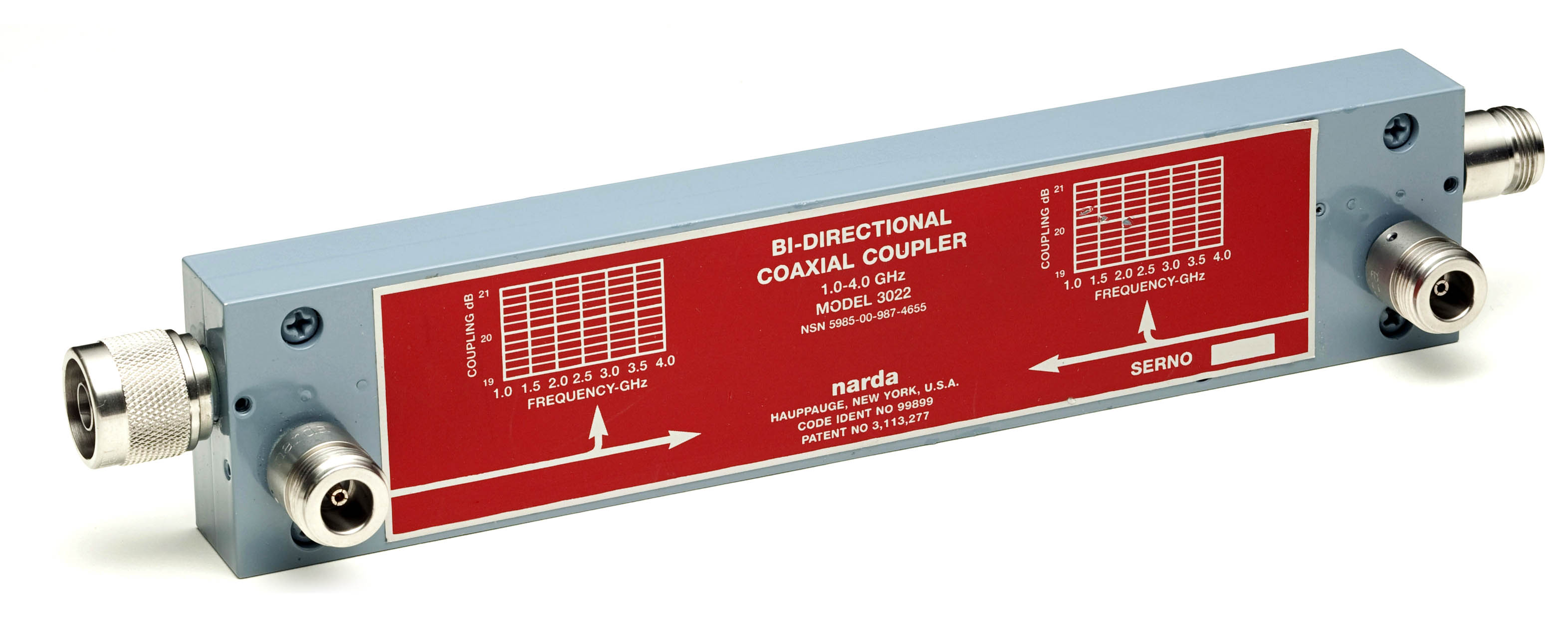Narda 3022 Reflectometer Coupler