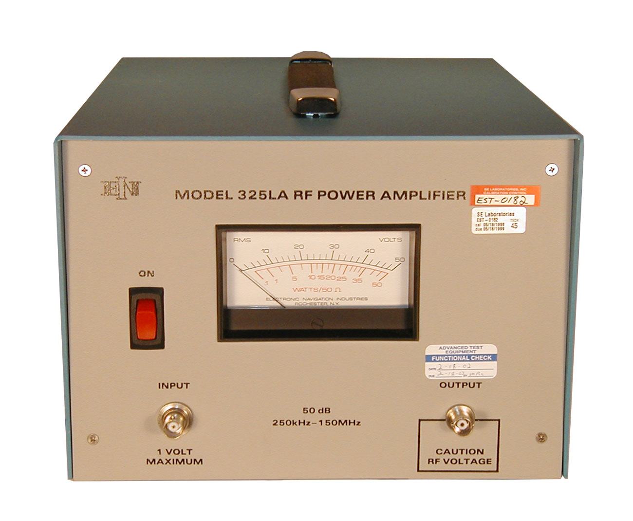 ENI/E&I 325LA Power Amplifier 250 kHz - 150 MHz, 25 Watts
