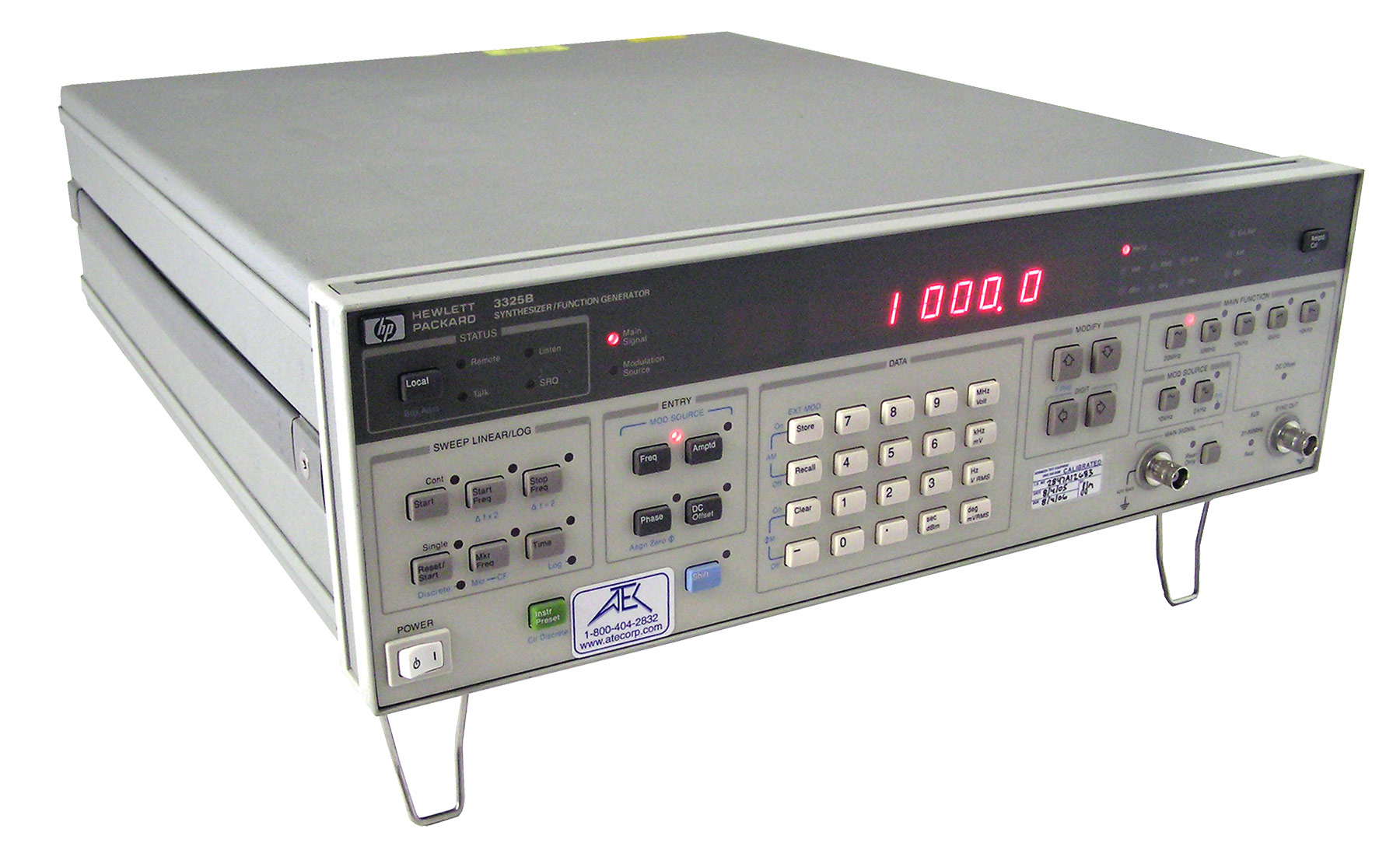 Keysight 3325B Function Generator, 21 MHz