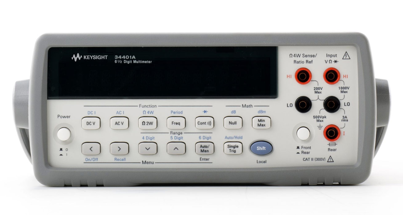 Rent 34401A Digital Multimeter