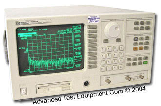 Rent HP/Agilent 35665A Dynamic Signal Analyzer