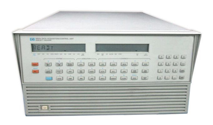 HP/Agilent 3852A Data Acquisition Operating System