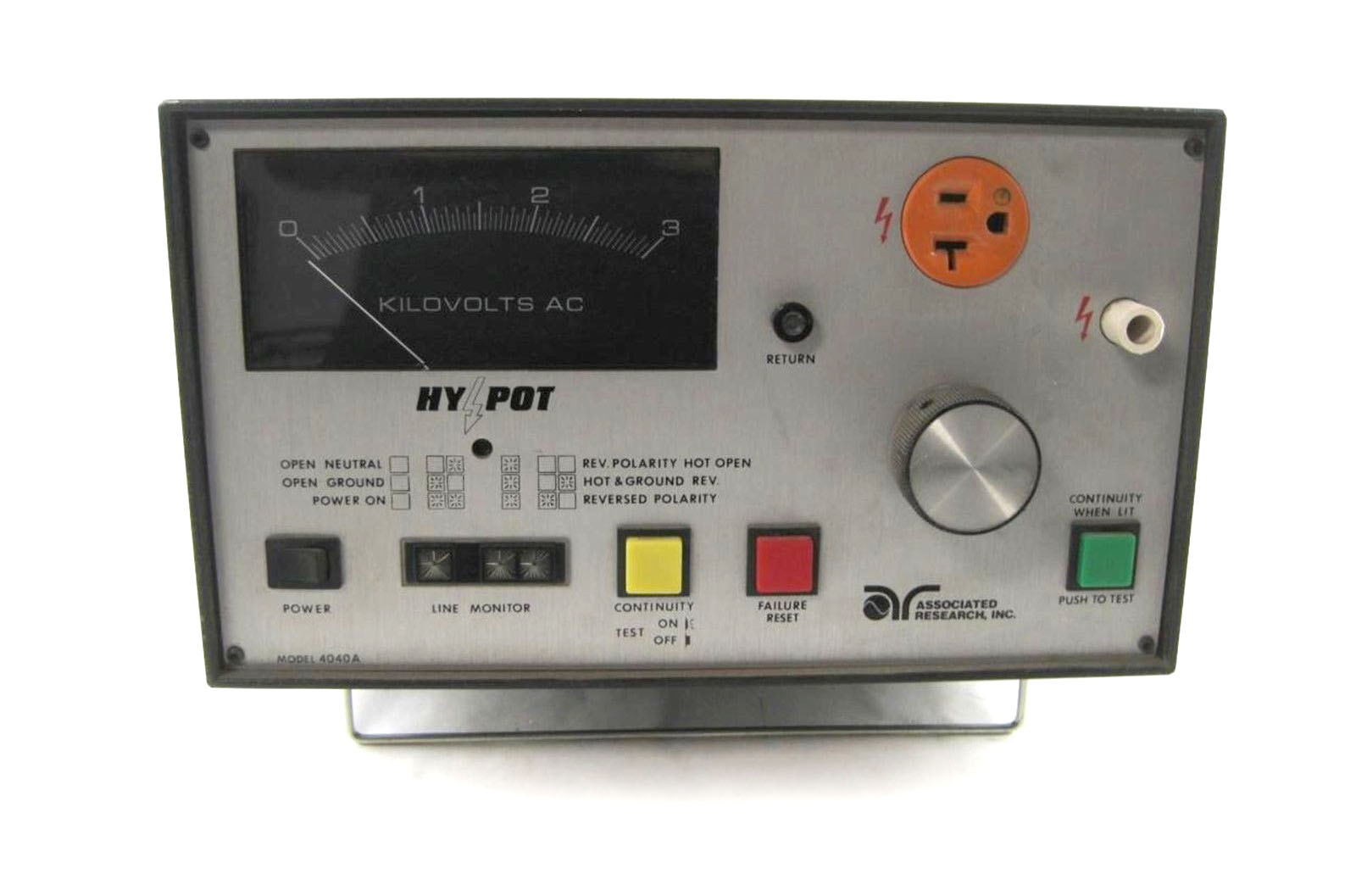Associated Research 4040A, AC Hipot Tester