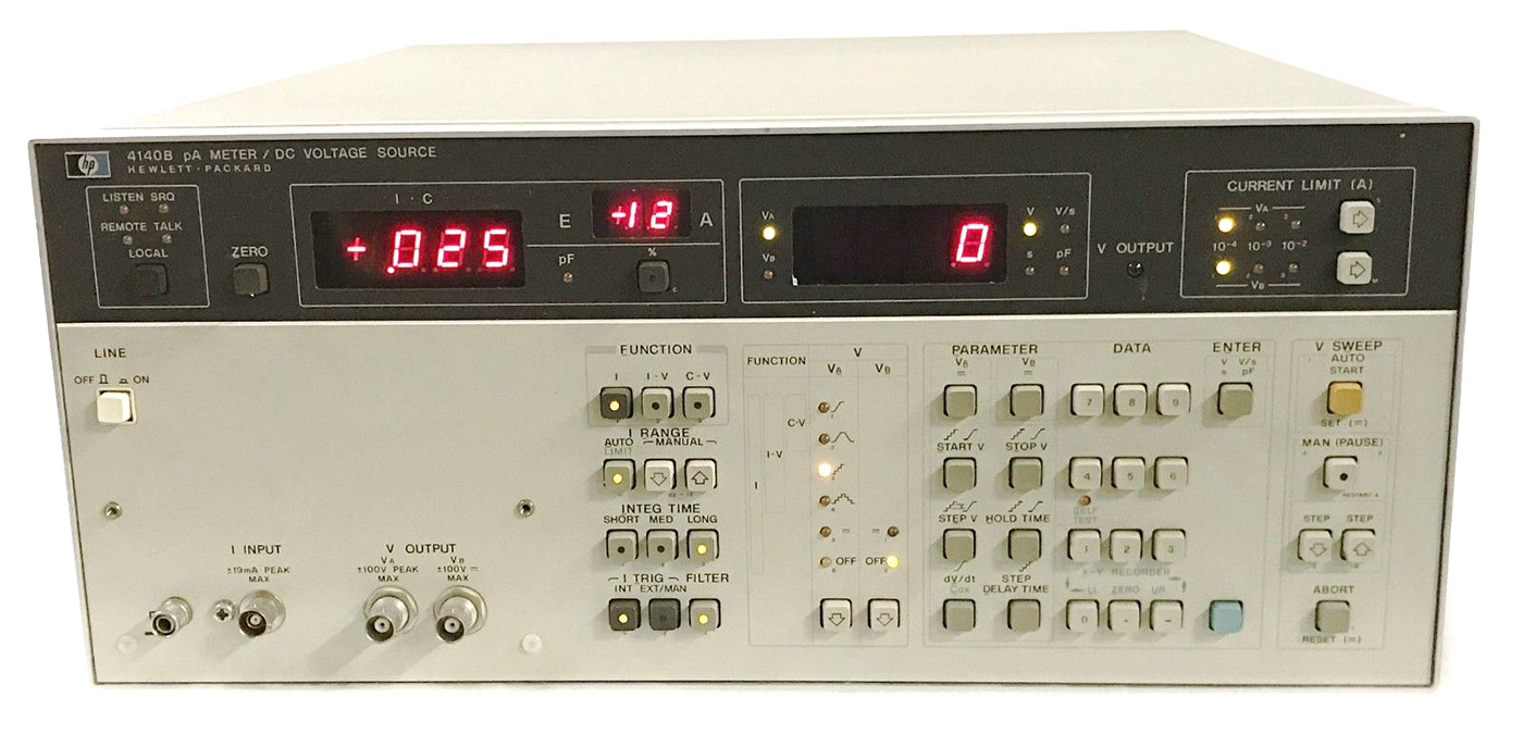 Keysight 4140B Meter/DC Voltage Source