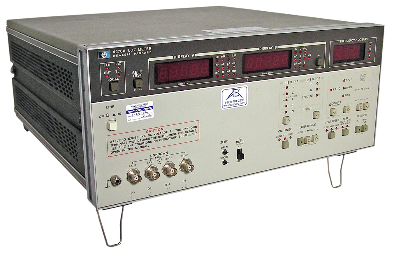 HP/Agilent 4275A LCR Meter 10 kHz - 10 MHz